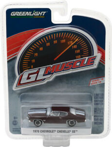 1-64-GL-Muscle-Series-19-1970-Chevrolet-Chevelle-SS-454-Black-Cherry