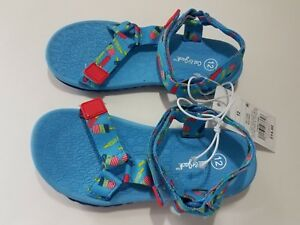 Toddler-Girls-Vanya-Easy-Closure-Strap-Sport-Sandals-Cat-amp-Jack-Blue-NWT