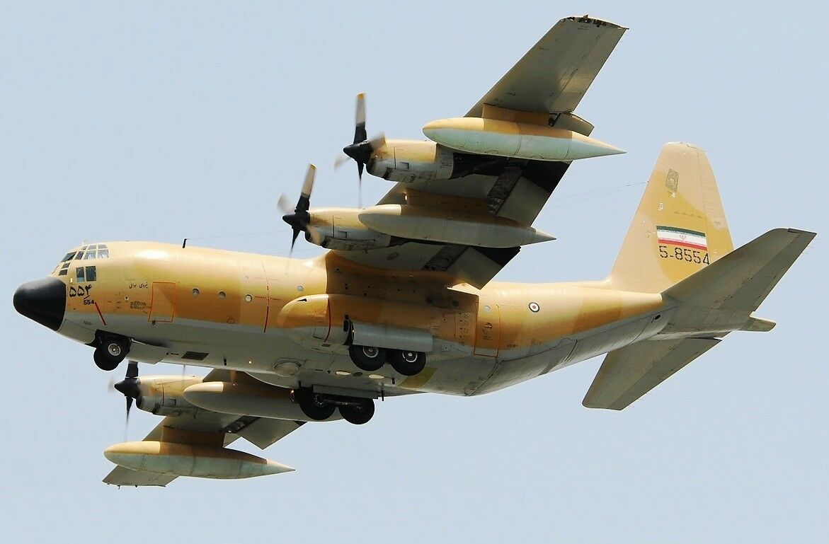 Jfox Jfc130015 1 200 Iran Air Force C-130h HERCULES (L-382) 5-8554