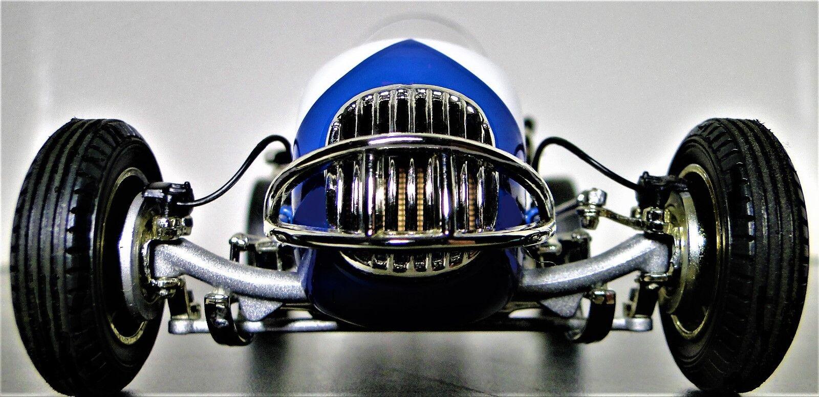 1 Auto De Carrera Ferrari 18 1960s 43 Vintage 24 Indy 64 Carrusel Azul 12 F
