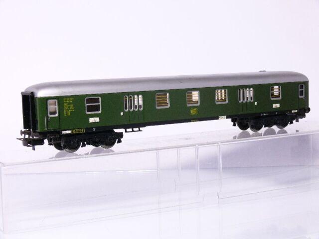 Märklin 4026 H0 4-axle D-Zug-Gepäckwagen Pw4ymg DB Green Tin
