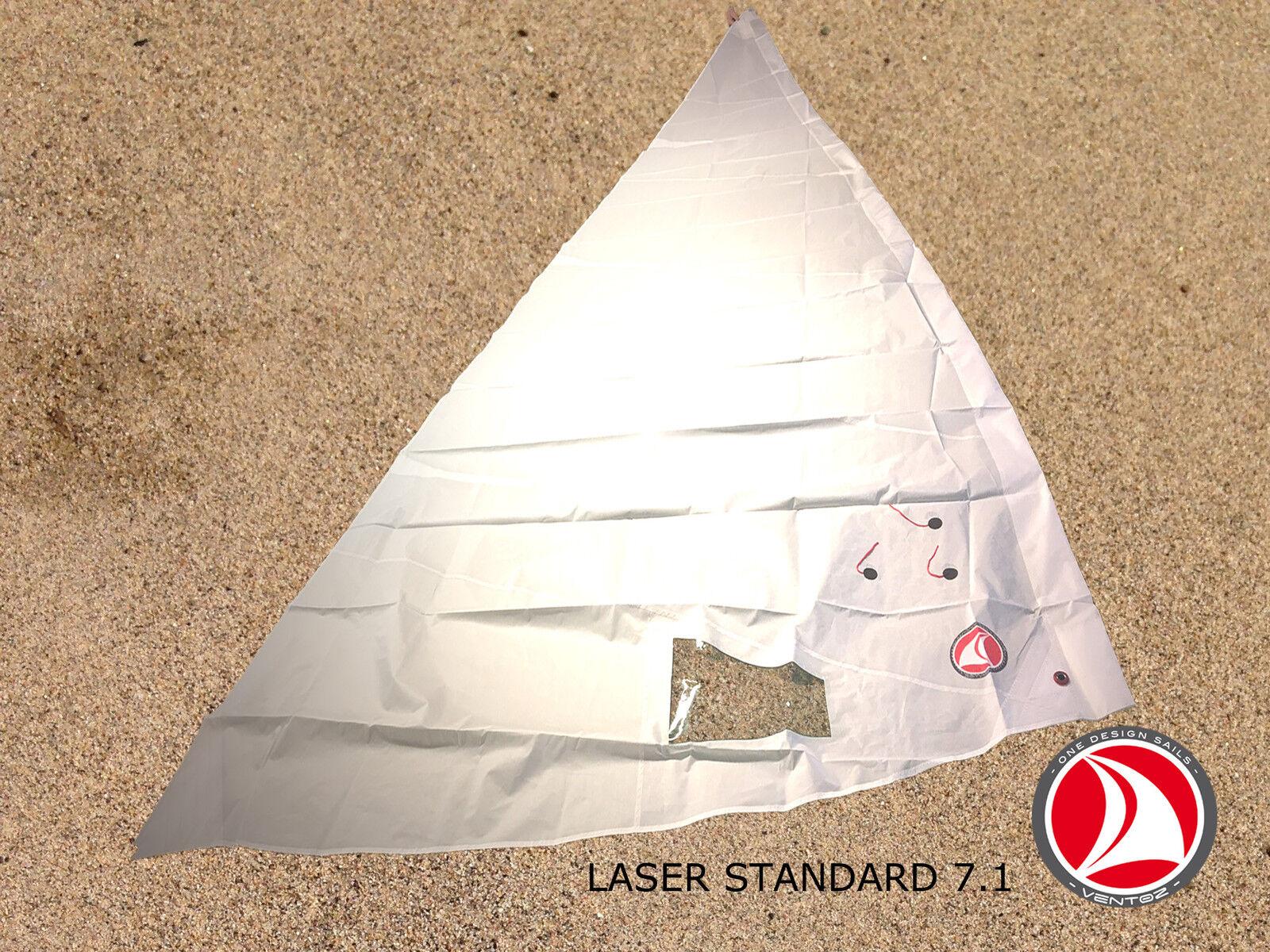 Ventoz Laser Standard Segel (7.1 m2) - Weiß