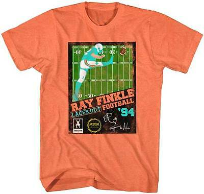 Ace Ventura Pet Detective Ray Finkle Laces Out Football Adult T Shirt Funny