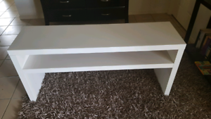 Near New Ikea Console Table White Make An Offer Ebay