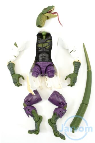 Marvel Legends 6 inch Build a Figure Spider-Man Lizard Parts Individual Pieces
