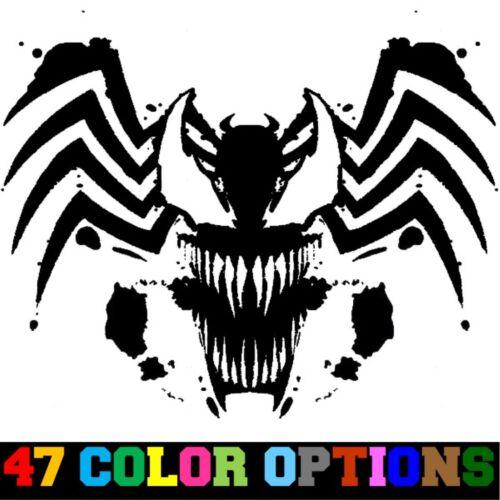Autocollant Vinyle Camion Autocollant Voiture Ordinateur Portable-Marvel Spider-Man gredin Venom Tribal