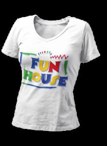 Fun House Funny Retro Tv Show Film Movie Old Skool Kids Birthday 90S Woman
