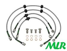 HEL Braided Brake Line Hose Kit for Vauxhall Opel Vectra C VXR 2.8T 2005-09