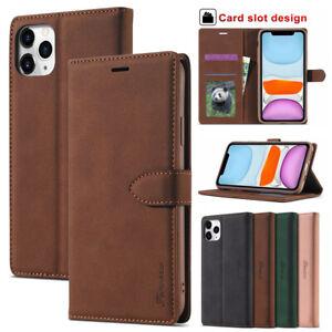 Fr Iphone 12 Pro Max 11 8 7 Plus Se 2020 Case Magnetic Leather Flip Wallet Cover Ebay