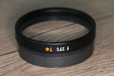 Zeiss OP Mikroskop Microscope OPMI Objektiv f 375 T*