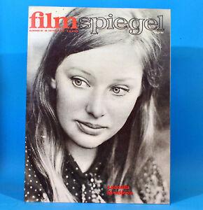 DDR-Filmspiegel-22-1972-Gunther-Simon-Peter-Borgelt-Sidney-Poitier-L-Saweljewa