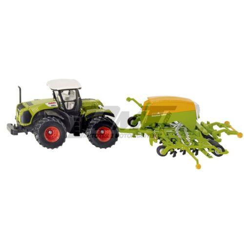 mit Sämaschine Siku 1826 Traktor