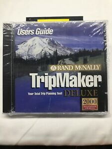 Rand Mcnally Tripmaker >> Details About Rand Mcnally Tripmaker Deluxe 2000 New