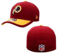 Men's Adult Nfl Washington Redskins Era 39thirty Flex Fit Cap Hat Small/med