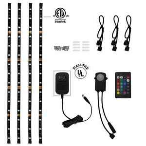 Image Is Loading Rgb Home Theater Accent Lighting Kit Ip65 Color