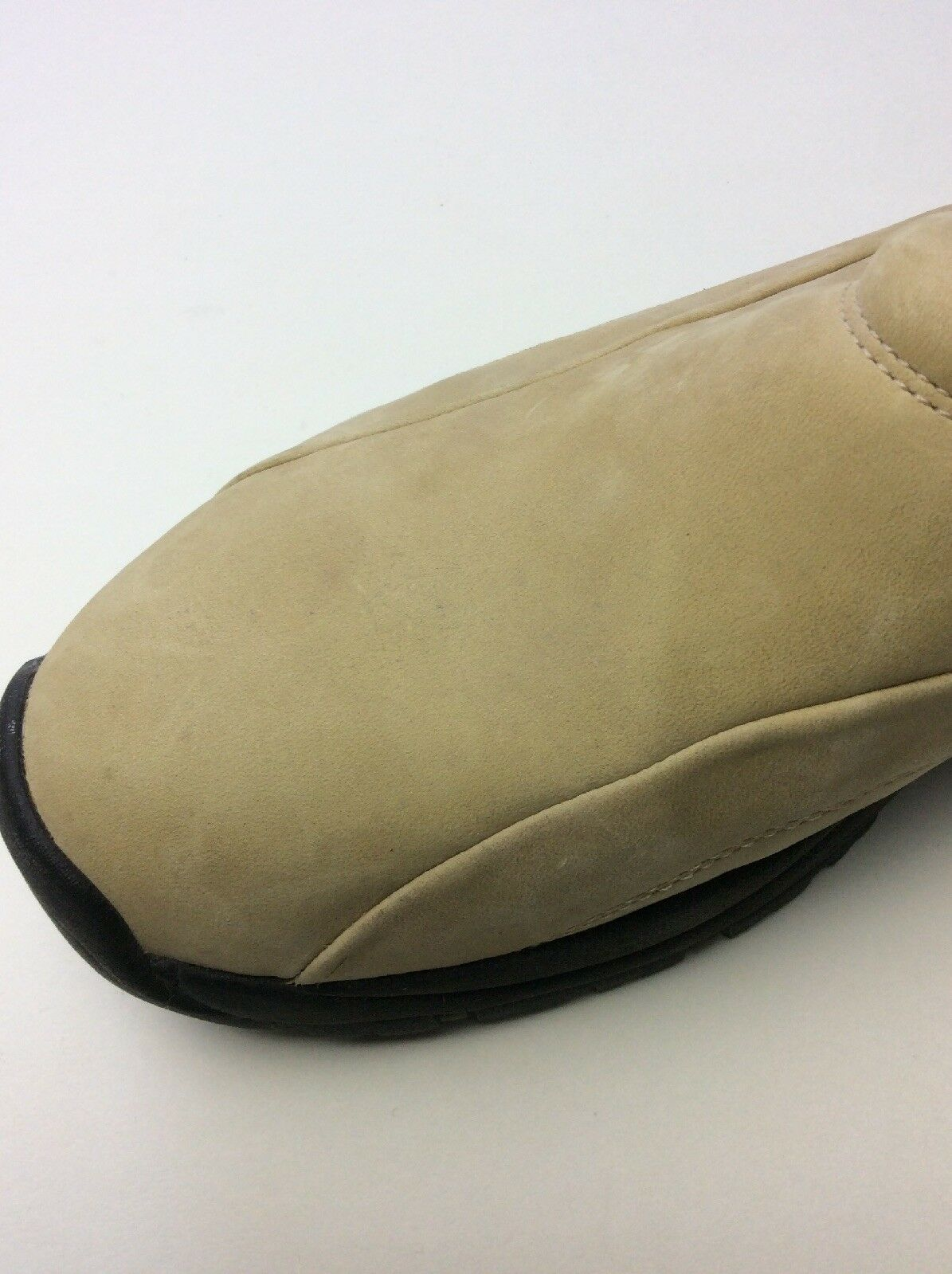 Bass Spunky II Hiking Mocs donna Dimensione 11M Tan Tan Tan Suede Slip-On Loafer Moccasin 6897df