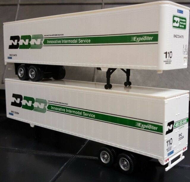 HO 45FT TRAILER 2 PACK BURLINGTON NORTHERN 0004-008211
