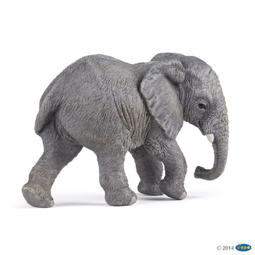 Papo 50169 Young African Elephant 2 13//16in Wild Animals
