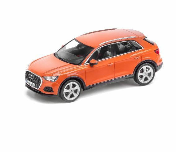 Audi Q3 Model Car Miniature 1 43 Minimax 2018 Pulsorange orange 5011803632