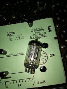Telefunken-ECC-83-E-Roehre-2-8-3-0-mA-Raute-Tube-auf-Funke-W19-geprueft-BL1522