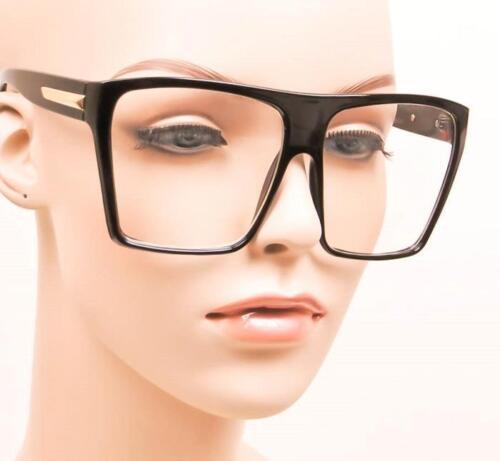 BIG Extra Large Huge Flat Clear Lens Fashion Blogger Eye Glasses 9688 HOT Frames