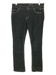 Grane-Jeans-Dark-Wash-Thick-Stitch-Pockets-Stretch-Juniors-11-Womens-31-x-31-5