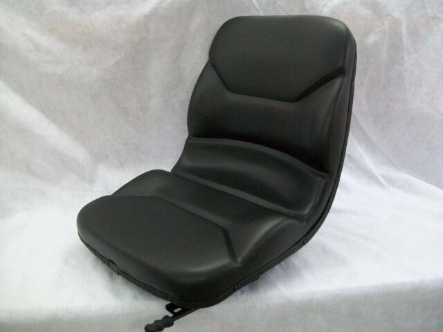HIGH BACK BLACK SEAT BOBCAT S130,S150,S160,S175,S185,S205,S220,SKID STEER #ON