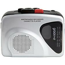 Groov-e GVPS525 Retro Series Personal Cassette Player/Recorder with Radio Silver