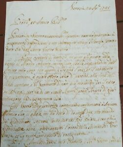 1745-167-LETTERA-SU-GUERRA-DI-SUCCESSIONE-AUSTRIACA-ESERCITO-NAPOLETANO-SAVOIA