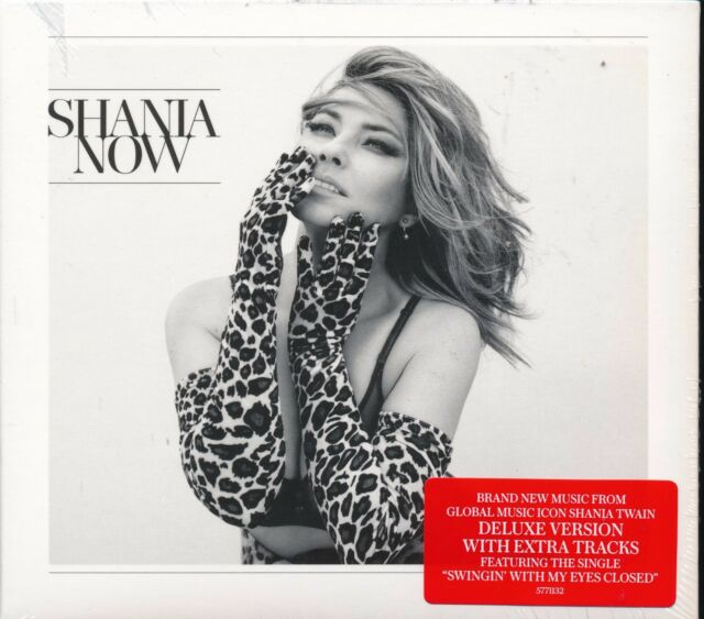 Shania Twain NOW CD NEW Compact Disc digipak case