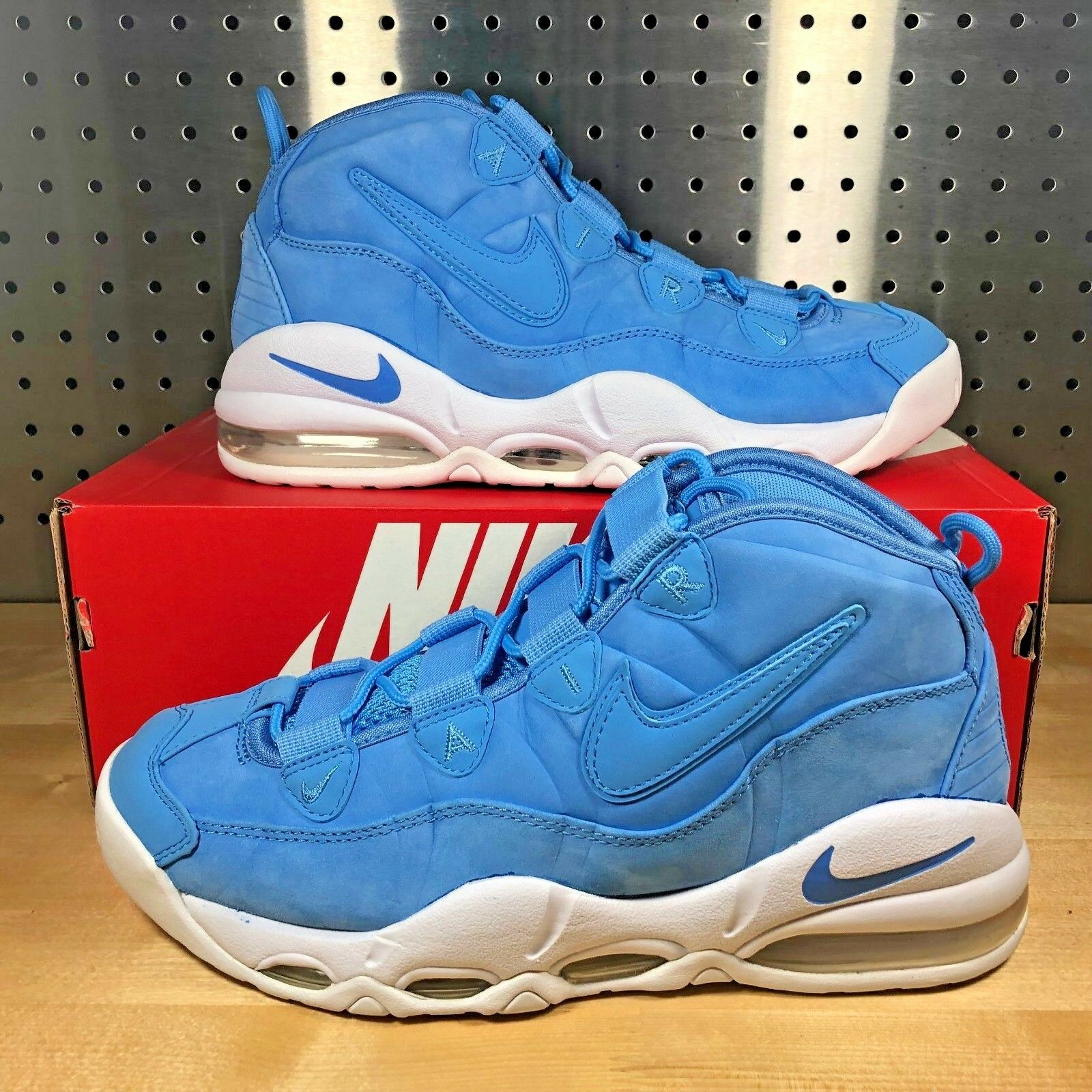 New Nike Air Max Uptempo 95 AS QS All Star University blueee UNC 922932-400 Sz 9.5