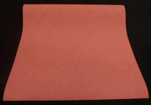 4971-5-2 10 Rollen edle Flachvinyl Tapeten mit feiner Struktur in hellrot