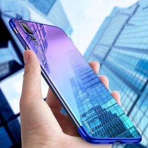 HANDY HÜLLE + PANZER FOLIE für Huawei P20 Pro P20 Lite Mate 20 Case Schutz Cover