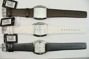 Time-Force-Damen-Armbanduhr-All-Edelstahl-Lederband-UVP-89-OVP-nur-27-90-Euro