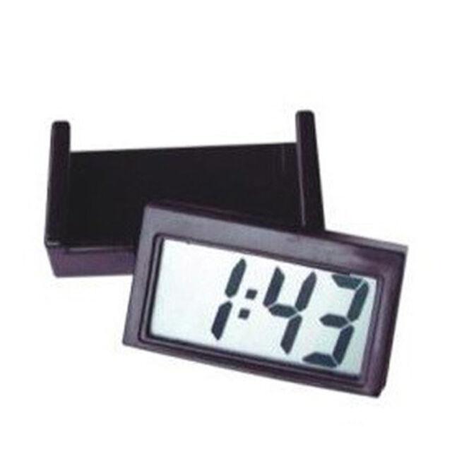 MINI Clear Digital LCD Display Suction Cup Car Windshield Dashboard Auto Clock