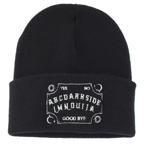 Metal Goth OUIJA Rock Fashion Accessory // Unisex Occult Beanie // occult