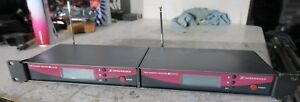 830-866 Mhz 2x Sennhesier Ew100 G2 True Diversity Receivers Skillful Manufacture