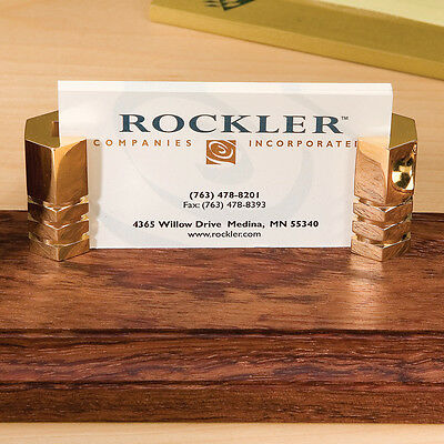 Business Card Holder - Wood Turning > Small Turning Project Kits