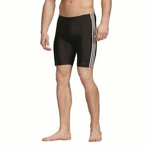 Details zu adidas Performance Herren Badehose Boxer fitness 3 Stripes swim jammer schwarz