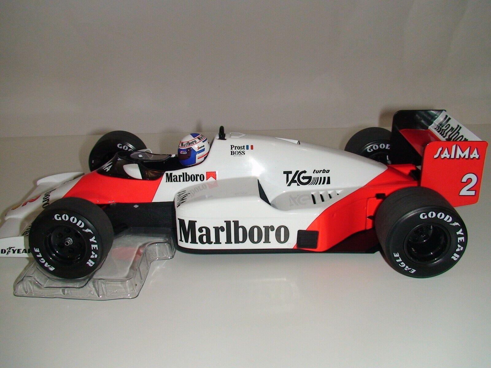 1 18 Minichamps Alain Prost McLaren MP4 2B 1985-MARLBor livrée Ltd pour 700pcs