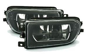 LAMPADE-DELLA-NEBBIA-ANTERIORE-NERO-CRISTAL-BMW-5-E39-96-03-520-525-530-D-TDS
