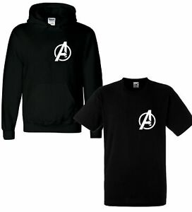 Marvel-Avengers-Logo-T-Shirt-Infinity-War-Endgame-Captain-America-Boy-Youth-Kids