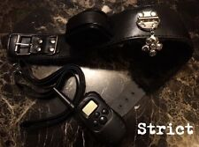 Bondage kit shock neck posture collar and lead fetish gimp adult HIGH QUALITY