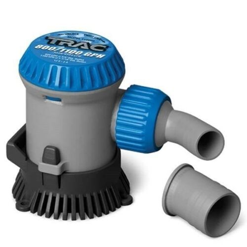 Trac Outdoor T10004 Bilge Pump 800//1100 GPH