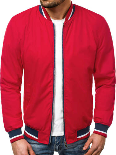 Bomber Giacca Giacca Sportiva di transizione giacca trapuntata cappuccio OZONEE 8530 Mix Uomo