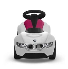Original BMW Baby Racer III weiß/himbeerrot (pink) - Rutscherfahrzeugfahrzeug