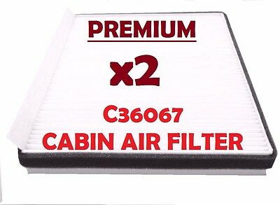 Cabin Air Filter fits 2009-2016 Hyundai Equus Genesis C36067