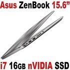 "Asus Zenbook Pro 15.6"" FHD IPS i7 16GB SSD+ 1TB nVIDIA 960M 4GB Laptop UX510UW"