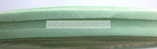 16mm COTONE BIAS binding Nastro 33 metri rotolo COMPLETO scelta di colori