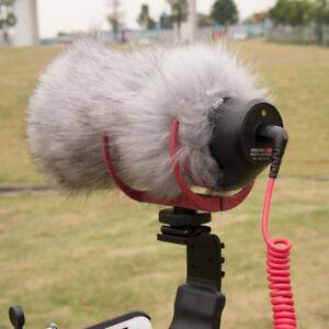 Hot-Microphone-Deadcat-Windshield-RODE-VideoMic-Go-Windscreen-Fur-Wind-Shield